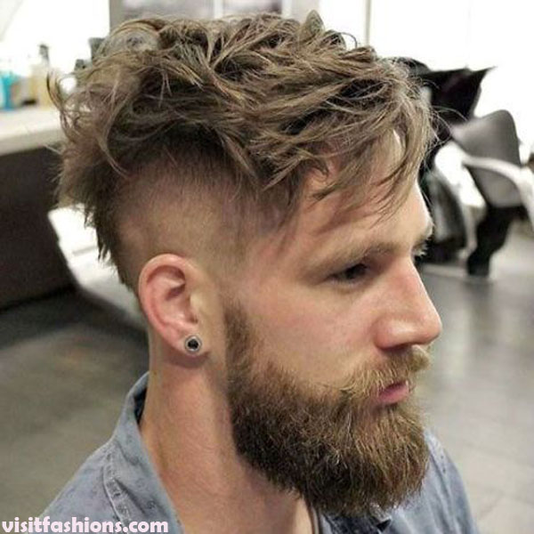 Messy Undercut Hairstyles for men