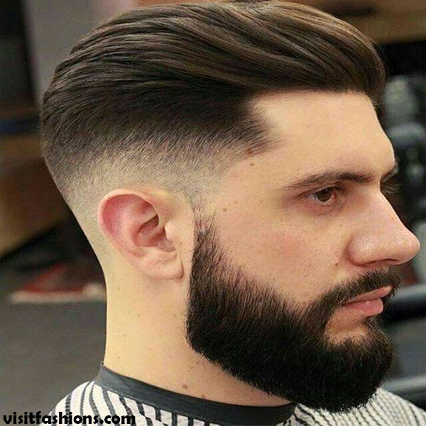 cool trend faded haircut