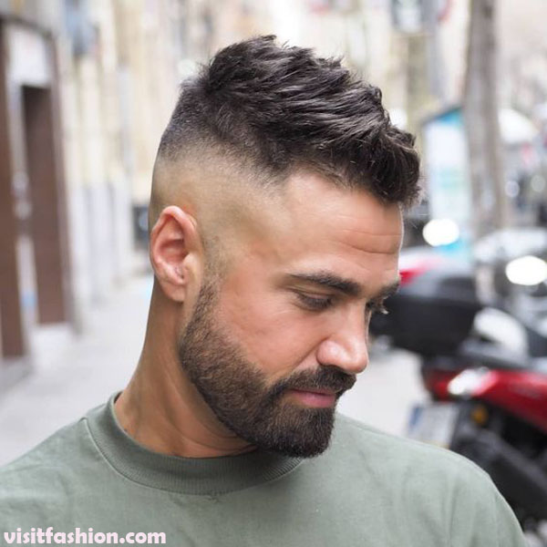 High Fade Quiff Hairstyles for men