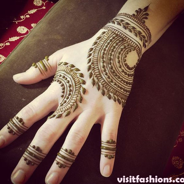 20 Simple Arabic Mehndi Designs For Girls In 2020
