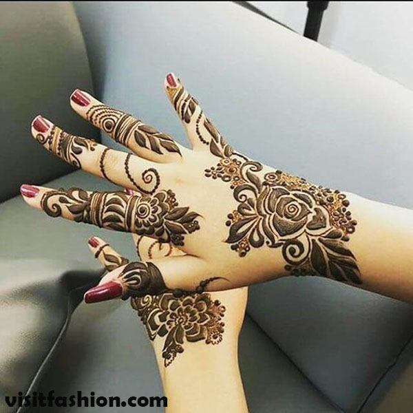 Simple Arabic Mehndi Designs for every function