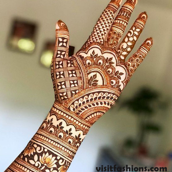 Turkish Mehndi Designs for girls