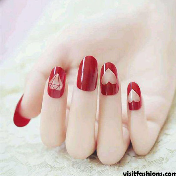 saintliness simple nail designs