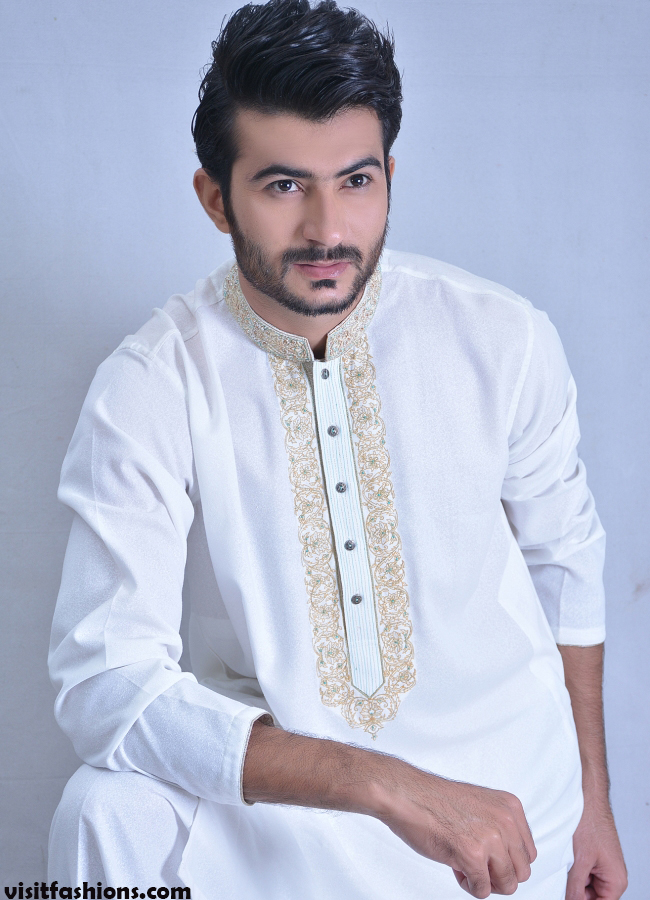 5. Alkaram Kurta Designs for men 2020