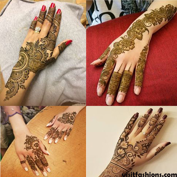 Latest Bridal Mehndi Designs For Hands And Feet In 2020