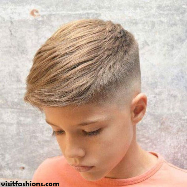 .Taper Fade Cool Haircuts For Boys