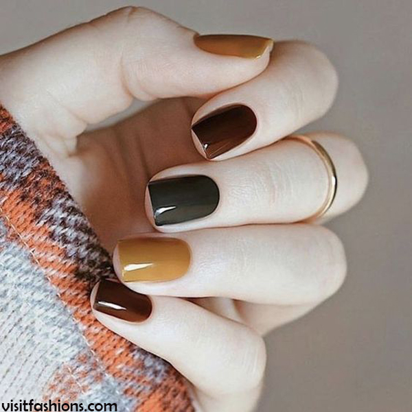 Simple And Easy Nail Designs Art Ideas For Girls In 2020