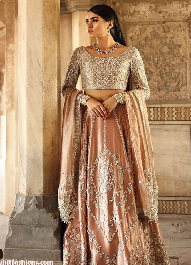 Latest Bridal Dresses In Pakistan For Wedding In 2020,Summer Wedding Nice Dress To Wear To A Wedding