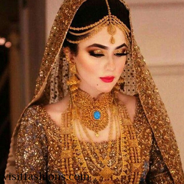 Unique bridal makeup styles