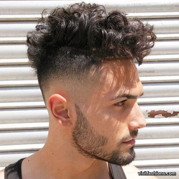 Men's Hairstyles Curly