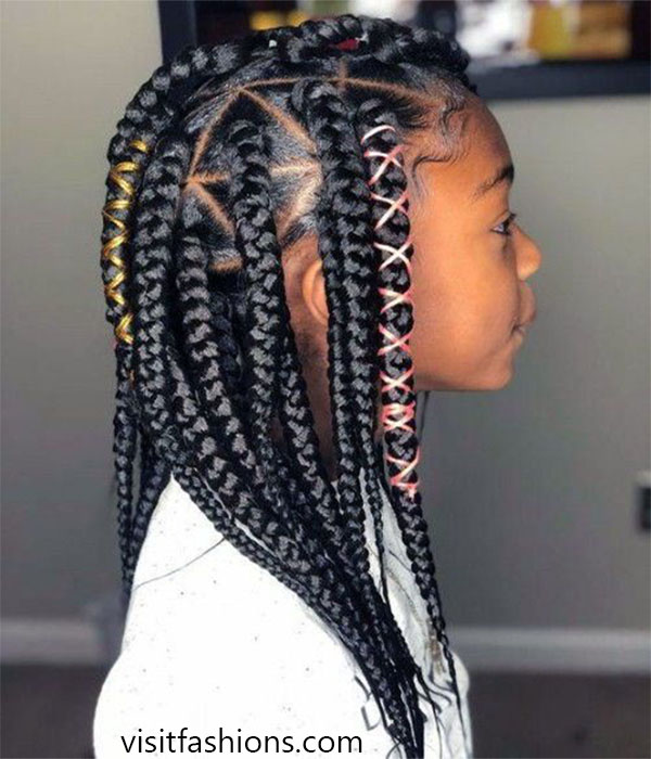Braided Hairs for baby