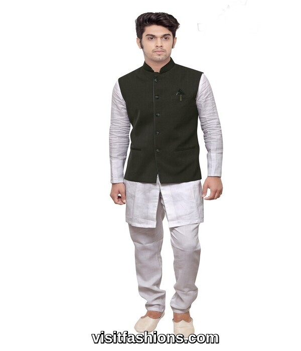 well stitched punjabi kurta pajama for men