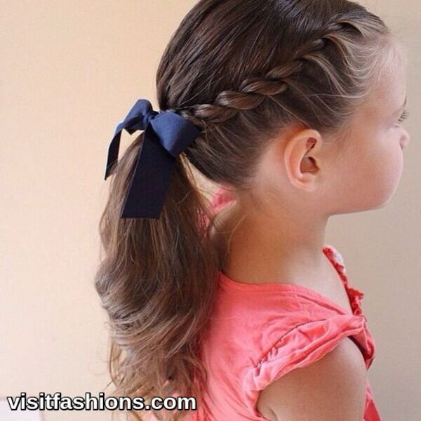 simple pony tail hairstyles