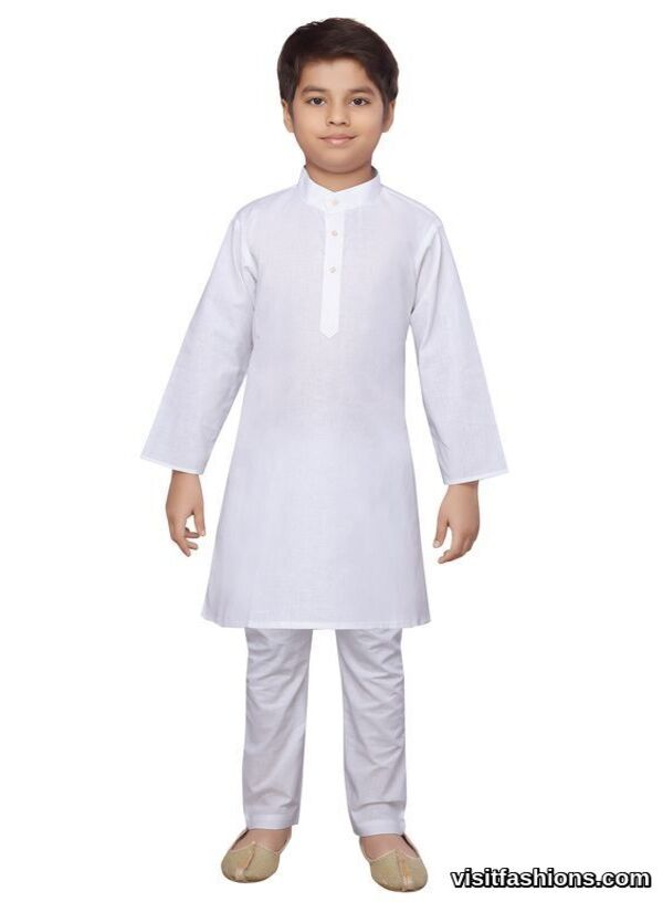 white punjabi kurta for boys