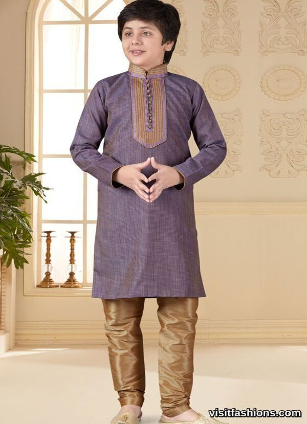 Light Purple punjabi Kurta Pajama