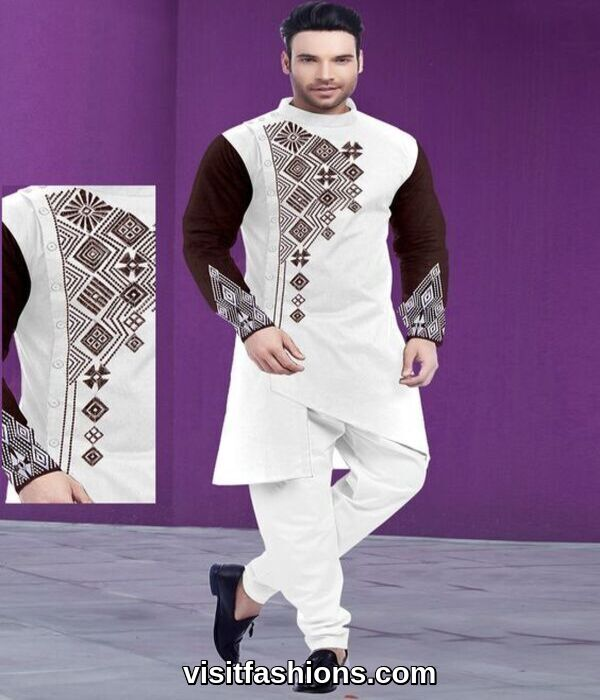eid punjabi kurta pajama for men