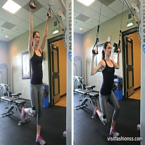 how to do cable squats at home
