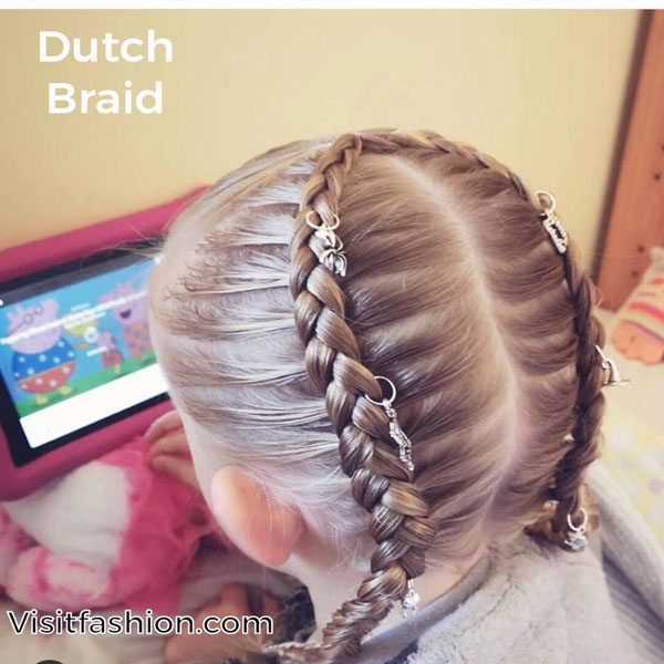 kids with braided haircuts