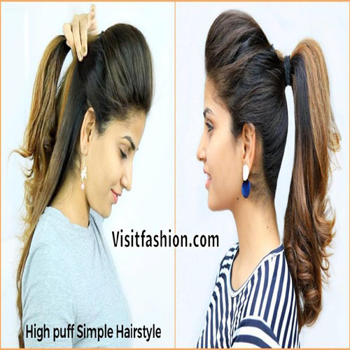 new simple girls hairstyles