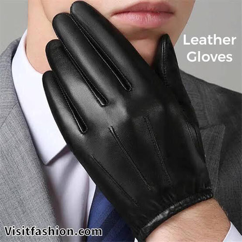 leather gloves for men casual