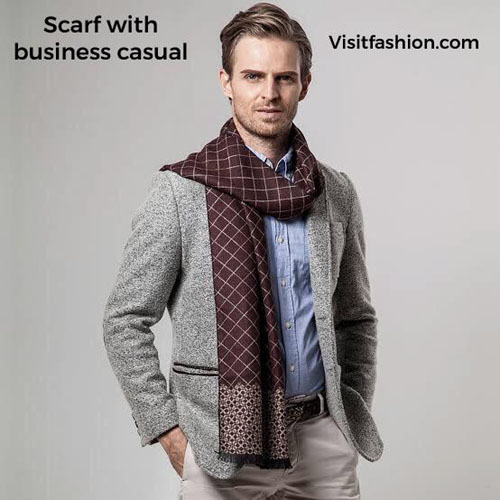 scarf styles for men in 2021