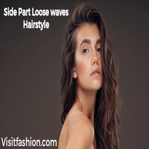 side part hairstyles for girls for long hairs