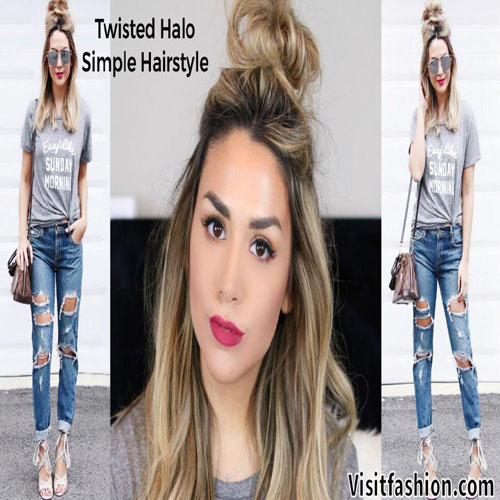 twisted hairstyles for girls