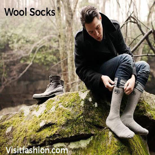 wool socks for men business casual outfits