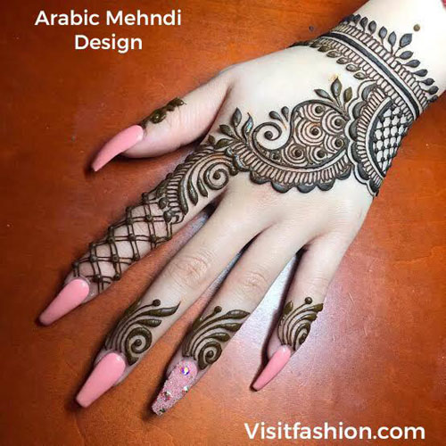 simple arabic mehndi deisngs for girls in 2021