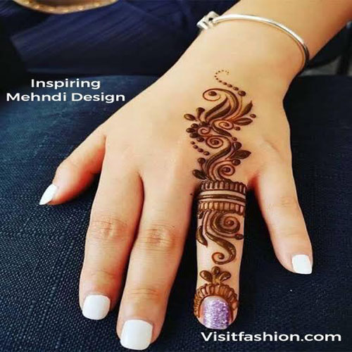 inspiring mehndi designs for girls