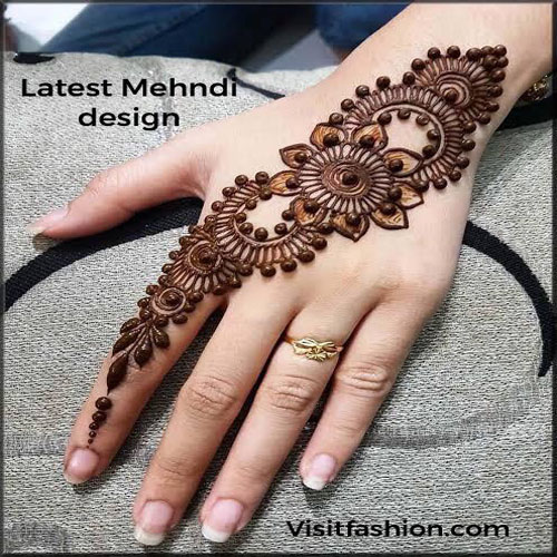 latest simple mehndi designs for girls