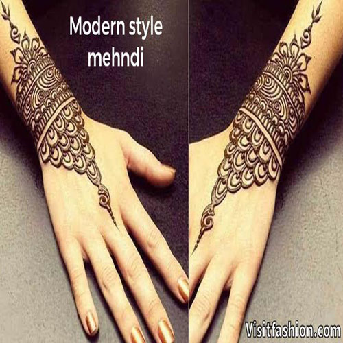 simple and easy mehndi designs for girls
