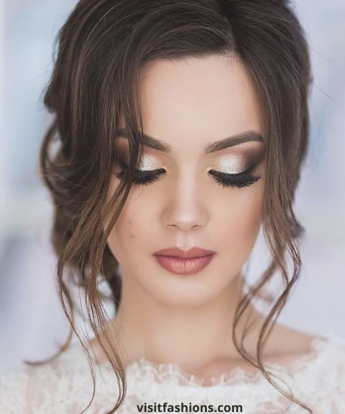 beach wedding makeup