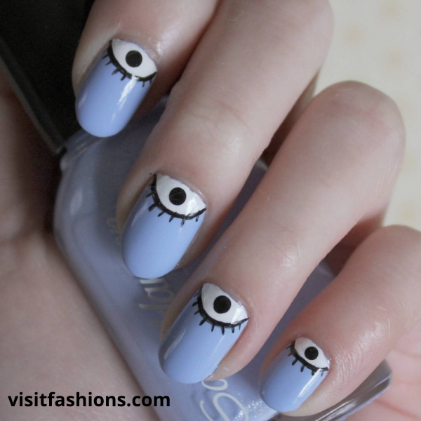 playful nail art