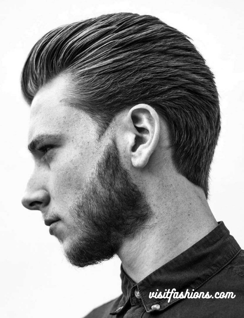 Slick back hairstyles for me with long hair