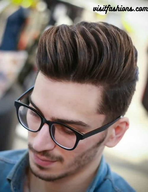 a longer quiff hairstyles for men with long hair