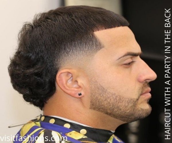 HAIRCUT WITH A PARTY IN THE BACK FOR MEN WITH THIN HAIR