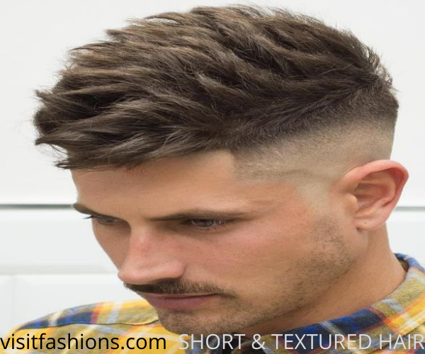 SHORT & TEXTURED HAIR FOR MEN WITH THIN HAIR_HAIRSTYLE_FOR_MEN